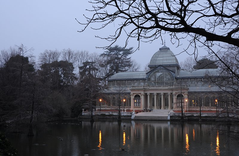 Winter in Crystal Palace (just after the dawn)