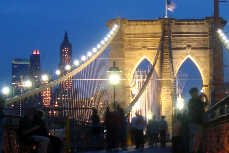 9p; Brooklyn Bridge