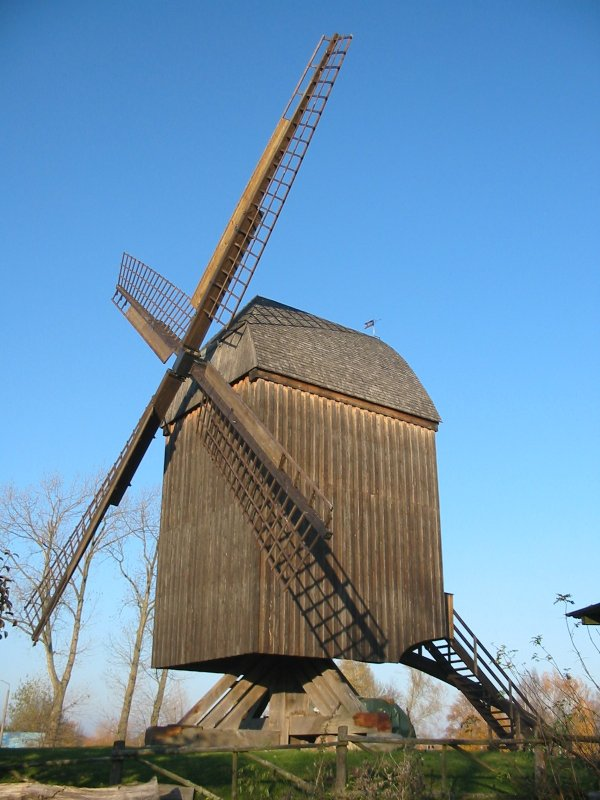 Bockwindmhle in Greifswald-Eldena 