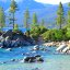 Sand Harbor In June, Lake Tahoe, Nevada