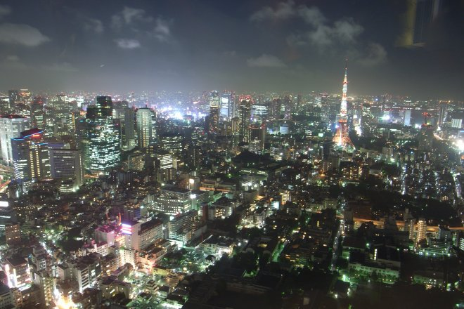 night over tokyo