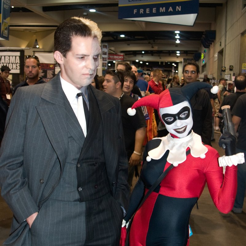 Harley Quinn and Two Face