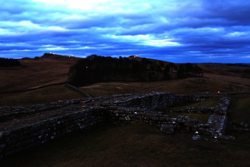 Illuminating Hadrian's Wall: 13 March 2010