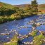 Fluss in den scottish borders