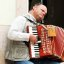 The blind accordion musician