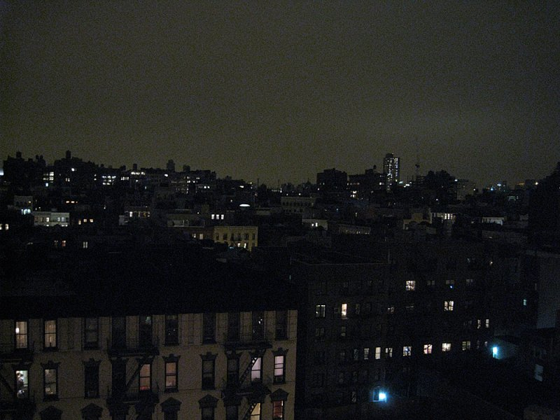 Earth Hour 2009: Soho, New York