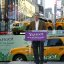 Co-founder David Filo with Yahoo! Green Taxis