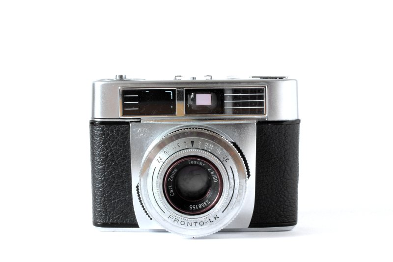 Carl Zeiss Contessa - Analog Camera with white Background ...