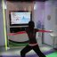 E3 2010 Xbox 360 Kinect Your Shape Fitness Evolved demo booth