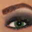 Carbon Black M.A.C. Eyeshadow Smokey Eyes