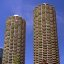 Chicago - Marina City & George Washington