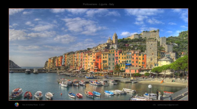 colors in liguria
