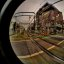 Railroad Crossing (Fisheye + HDR)