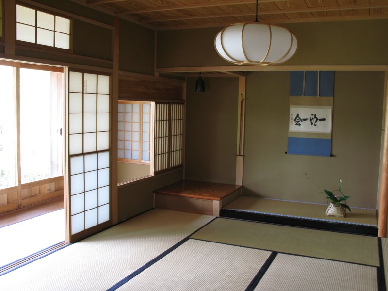 Japanese house traditional style interior design / 和室(わしつ)の内装(ないそう)