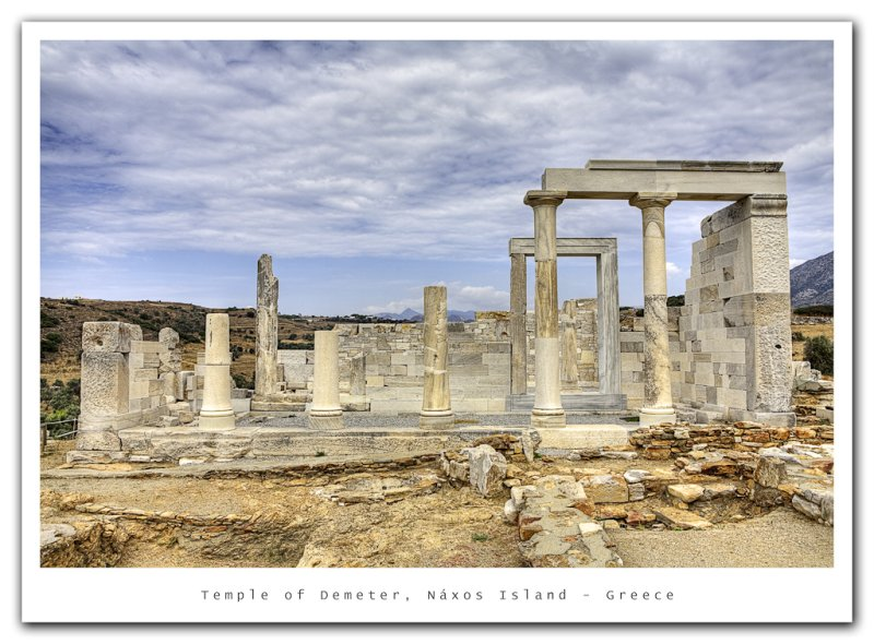 Temple of Demeter, Greece
