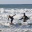 Father and son surf lesson in Morro Bay, CA 2 of 12