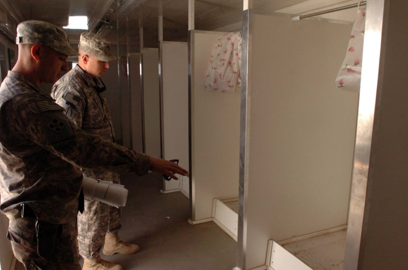 Facilities upgrade in Iraq