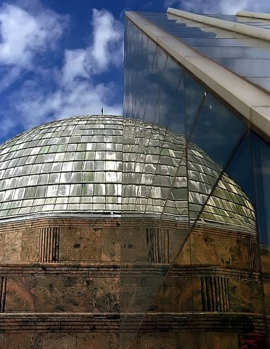 Chicago - Adler Planetarium Reflected