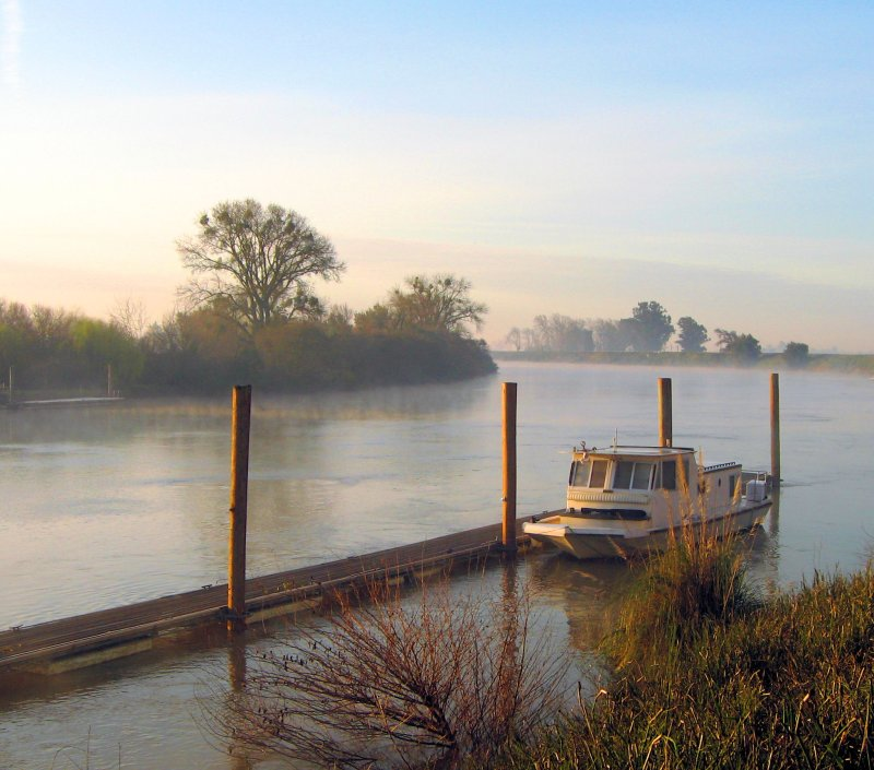 Early Morning on the Sacramento River