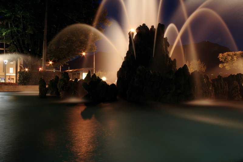 Lugano fountain