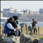 Tai Chi and a Kiss on the Hudson