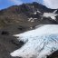 Stitched shot of Raven Glacier near Crow Pass, Girdwood, Alaska (view on large)