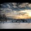 Snow Landscape #HDR #photog