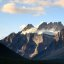 Cool shot of the mountains in Banff National Park