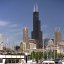 Chicago - Sears Tower & Burnham Harbor Speedboat