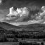 Smokey Mountains Black and White