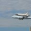 Space Shuttle Discovery Landing At Washington DC