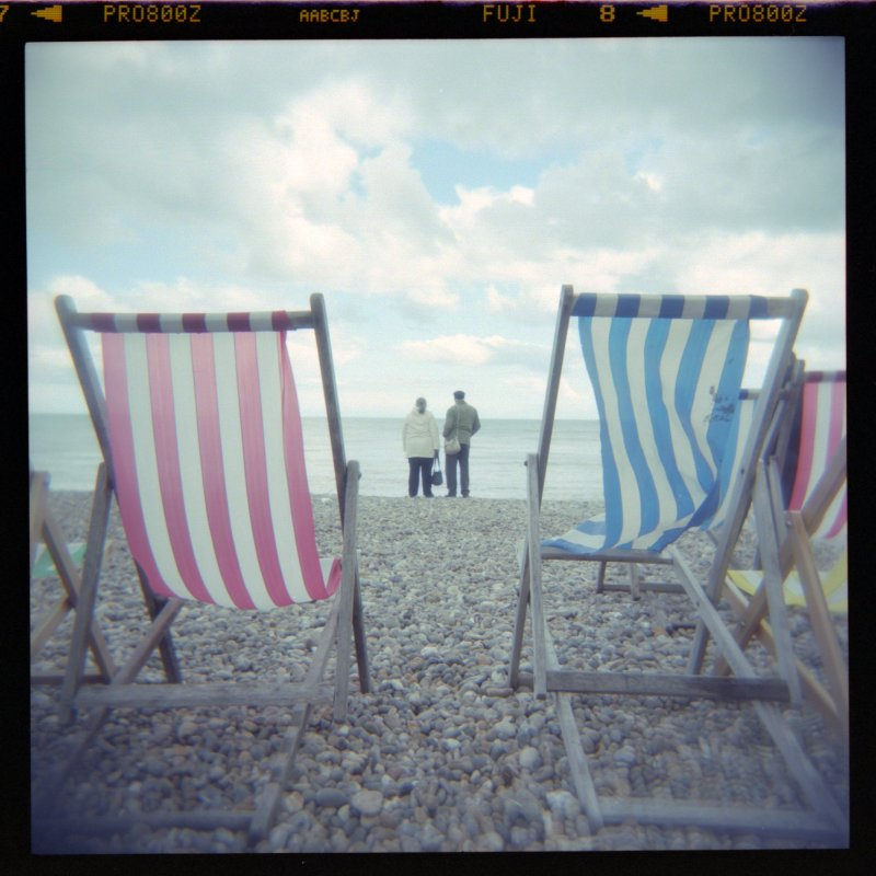 Deckchairs at Beer