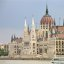 The Hungarian Parliament Building from the Danube