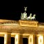 Brandenburger Tor bei Nacht