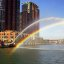 Chicago - Centennial Fountain &quot;Water Arc &amp; Rainbow - 5:05 P.M. / Sunny&quot;