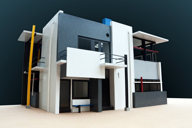 Haus Schröder gerrit rietveld schröder house physical model piqs de