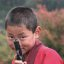 Bhutan: Boys Will Be Boys (Even When A Novice Monk!)
