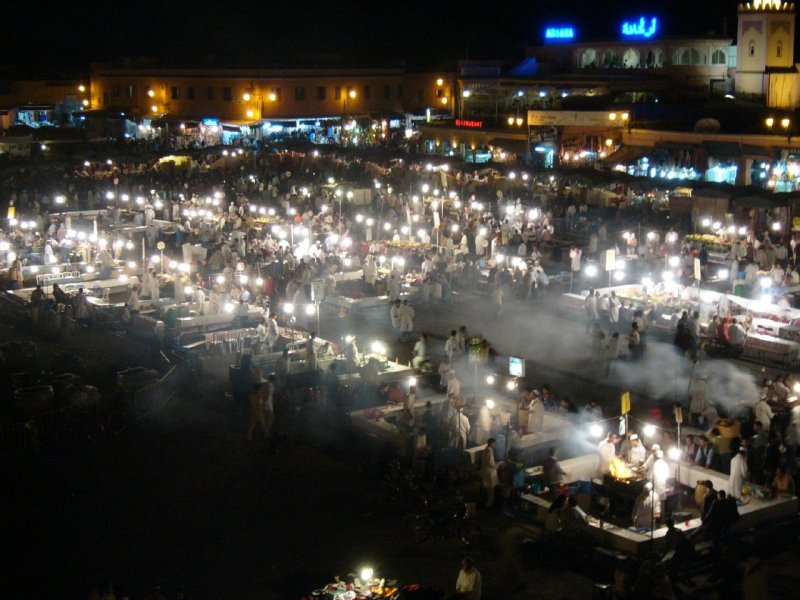 Marakesh Night Market