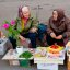 Street vendors / On the street / Novosibirsk / Siberia / 15.10.2011