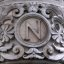 University Club Entryway Pilaster Letter N (New York, NY)