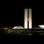 Brasilia, Brazil: Parliament Buildings by Night