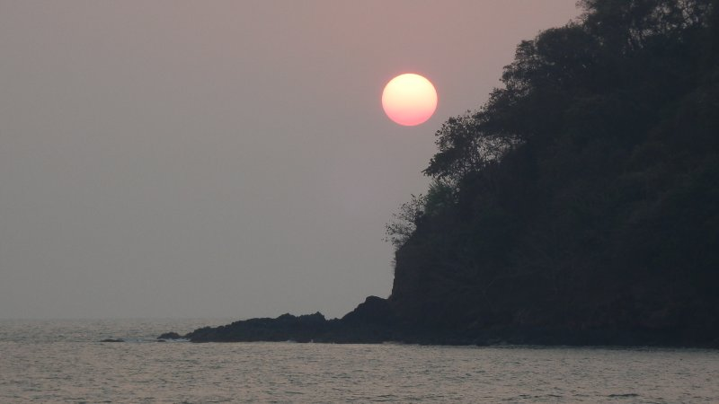 Sunset at Agonda Beach