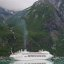 Regal Princess Cruise Liner on the way to the Sawyer Glacier