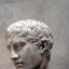 Marble Head of a Youth, ca. A.C.E. 41-54 (Metropolitan Museum of Art)