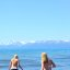 Girls Walking In Lake Tahoe