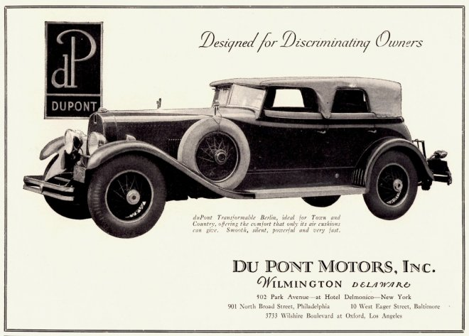 1929 Du Pont Transformable Berlin