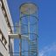 arne jacobsen, fire escape stairs, NOVO, copenhagen 1954-1955
