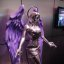 E3 2011 - Saint&#039;s Row: the Third statue (THQ)