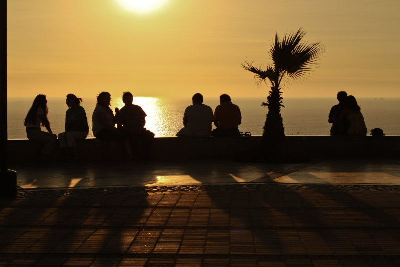 Down by the Playa (Setting Sun - Lima)