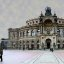 Semperoper in Farbe